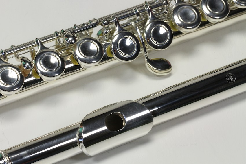 Flute yamaha yfl 221 used excellent condition 6 for Yamaha yfl 221 student flute
