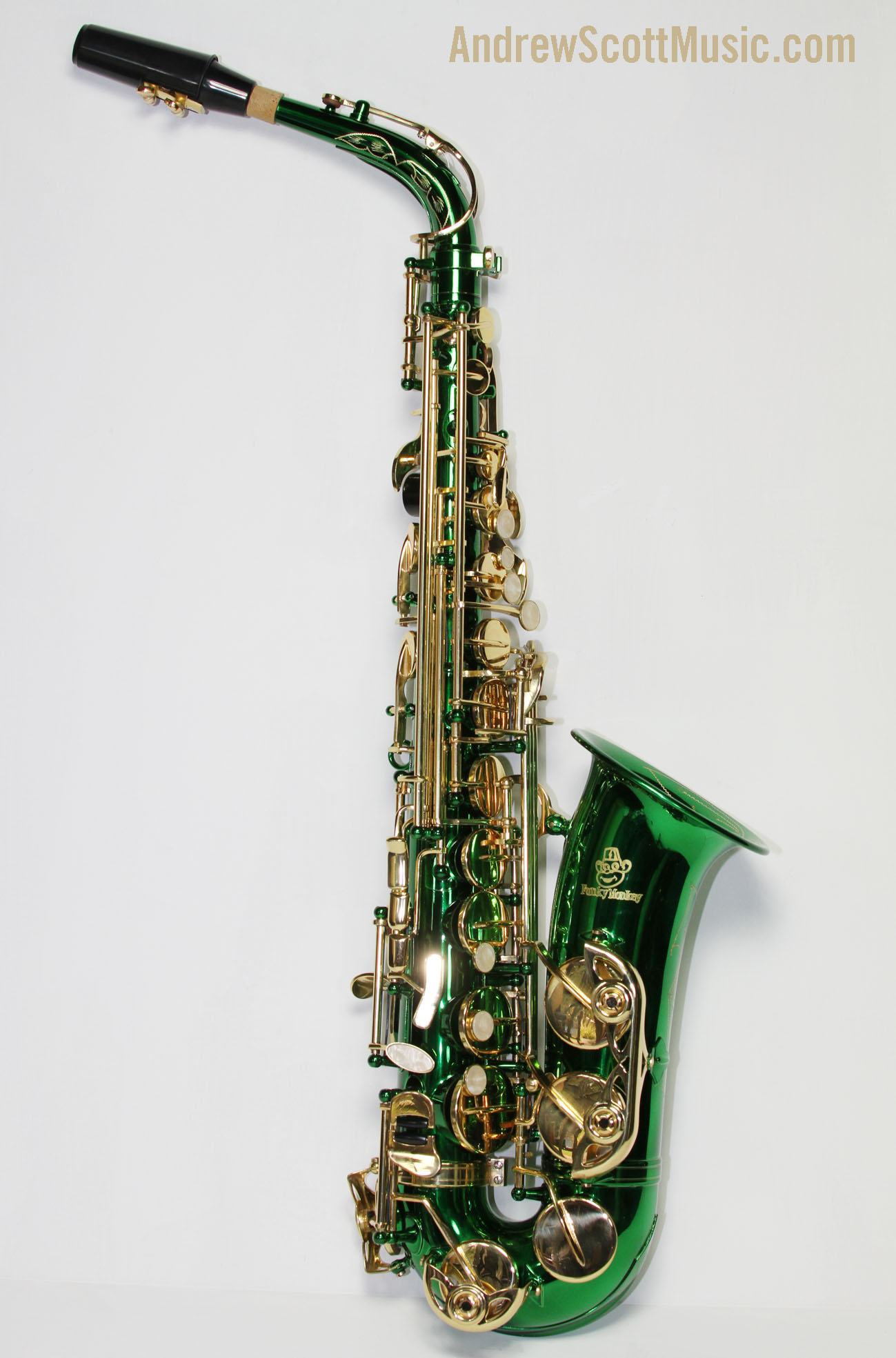 New Green Alto Saxophone in Case - Masterpiece | eBay