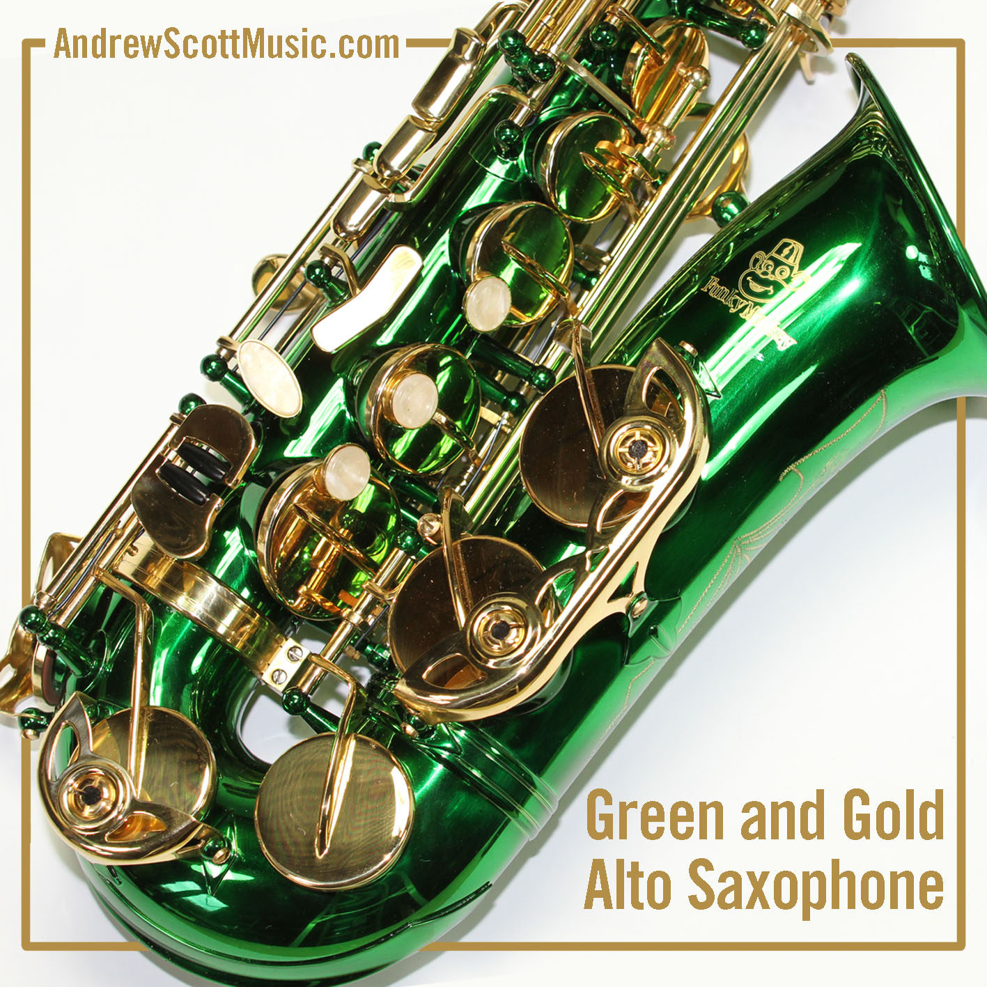 New Green Alto Saxophone in Case - Masterpiece | eBay