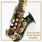 Curved Saxophone Black