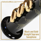 Saxophone Black