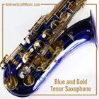 Saxophone Blue