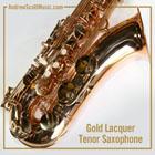 Saxophone Gold