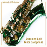 Saxophone Green