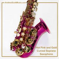 Saxophone Hot Pink