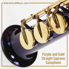 Saxophone Purple