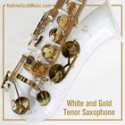Saxophone White