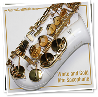 Saxophone White Gold