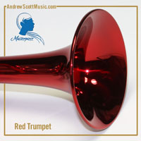 Red & Silver Trumpet