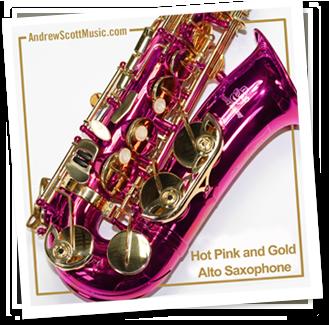 Pink Saxophone