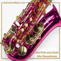 Alto Saxophone Pink